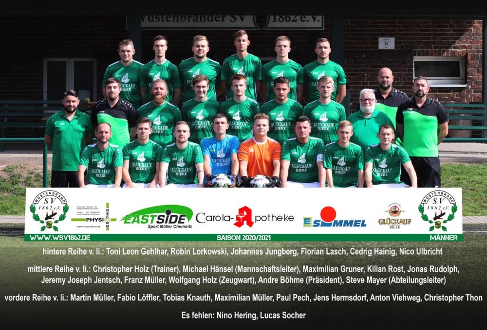 Männermannschaft 2020/21
